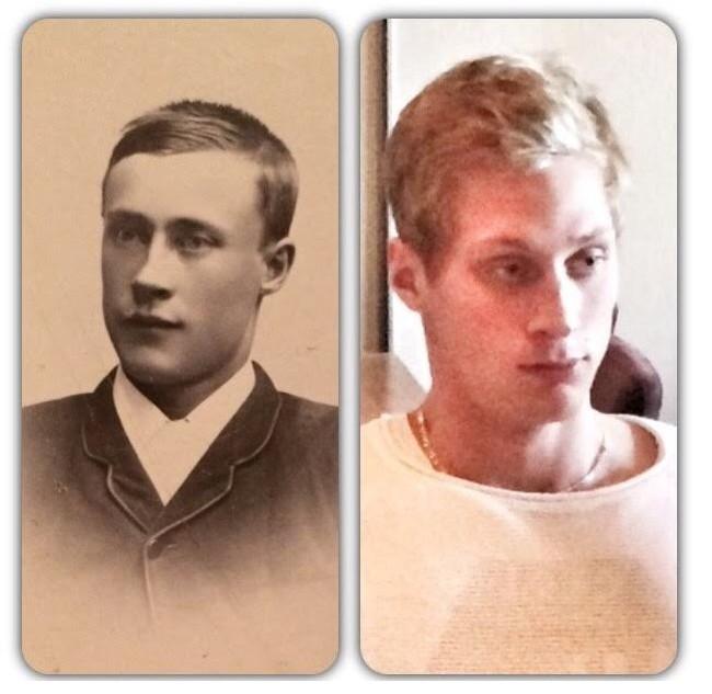 Олаф (1871 г.р.) и Макс (родился в 1991 г.р.)