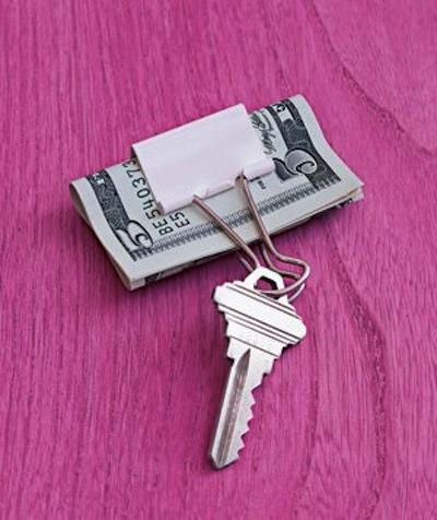 Биндер для ключей и денег