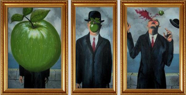 Рене Магритт - «Сын человеческий»
