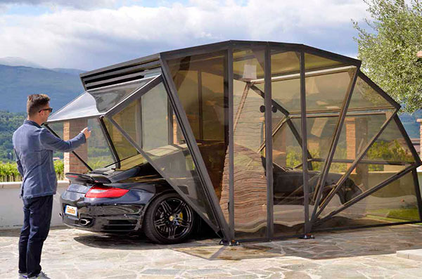 Многофункциональный гараж GazeBox порадует любую машину