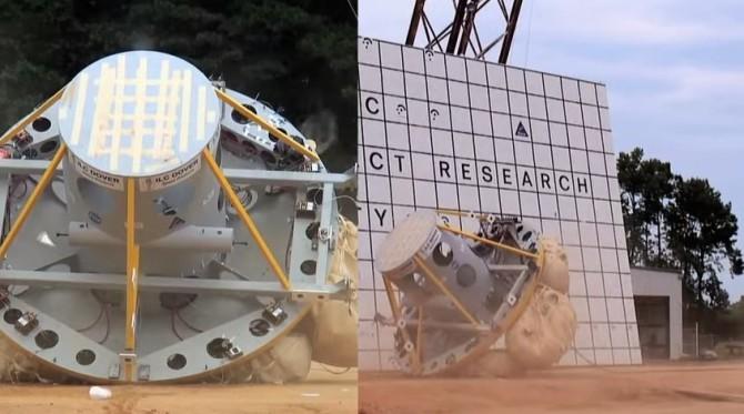 Испытания НАСА аварийных посадок (Видео)