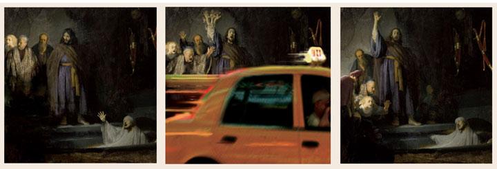 Рембрандт Харменс ван Рейн - «Воскрешение Лазаря»
