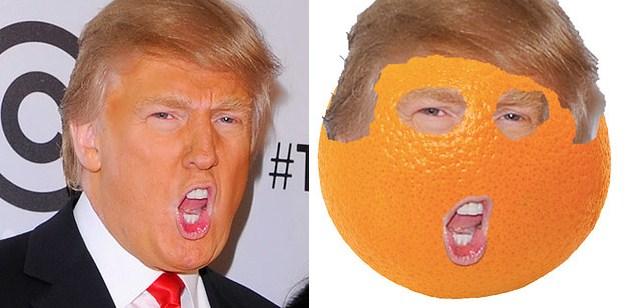 Апельсин и Дональд Трамп