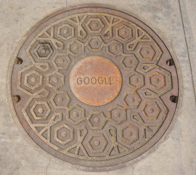 Крышка люка Google