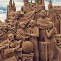 Скульптуры из песка: 30 впечатляющих примеров