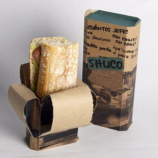 Гениальная и удобная упаковка для сэндвичей или шавермы
