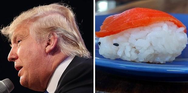 Суши и Дональд Трамп