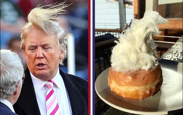 Пончик и Дональд Трамп