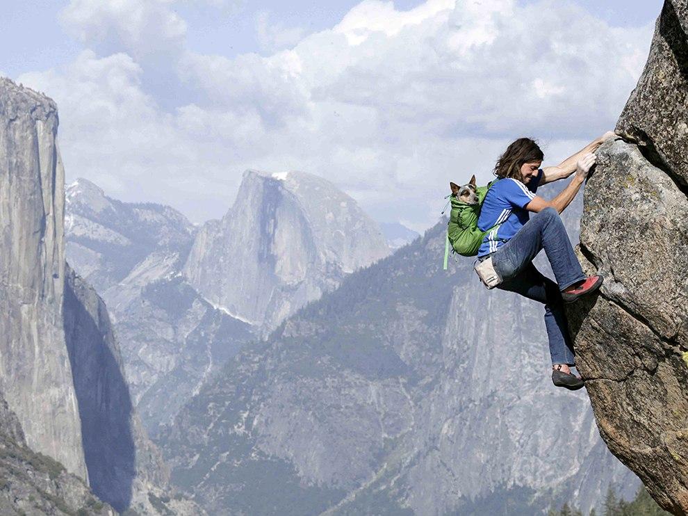 Восхождение на горуЙосемит. Штат Калифорния, США