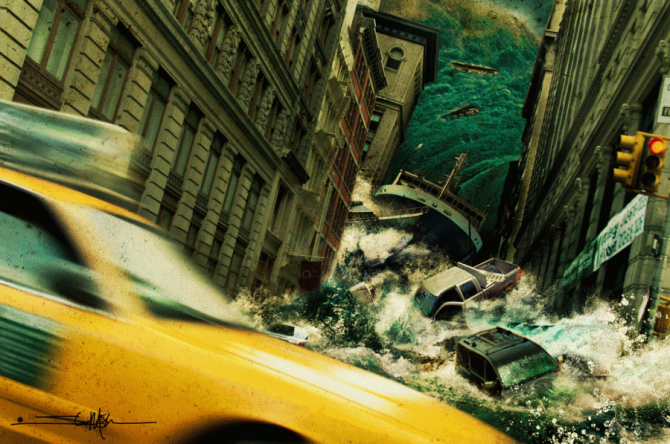 Рецепт катастрофы: цифровое искусство Стива Макги