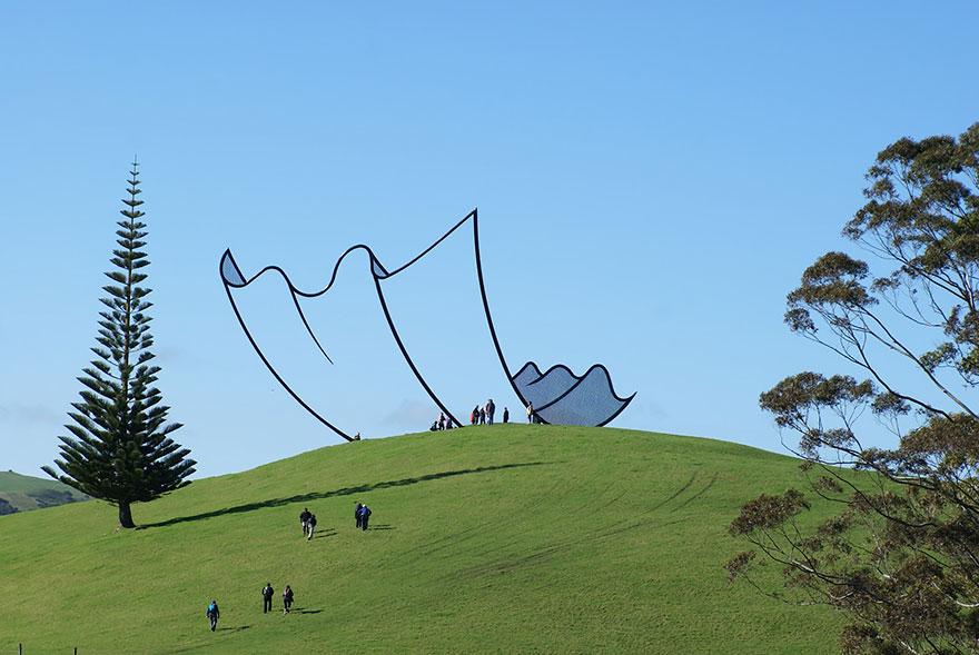 Скульптура в Новой Зеландии