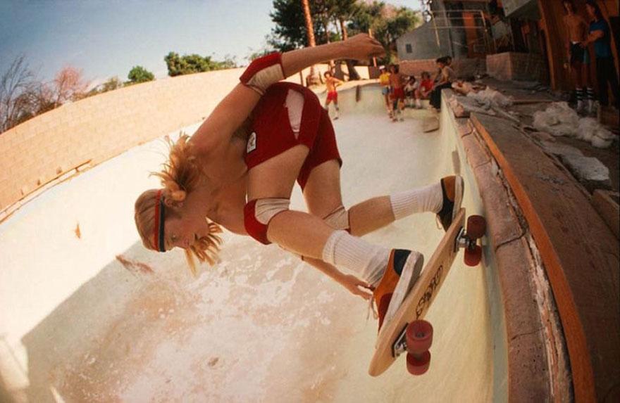 Скейтбординг в Калифорнии в 70-х.