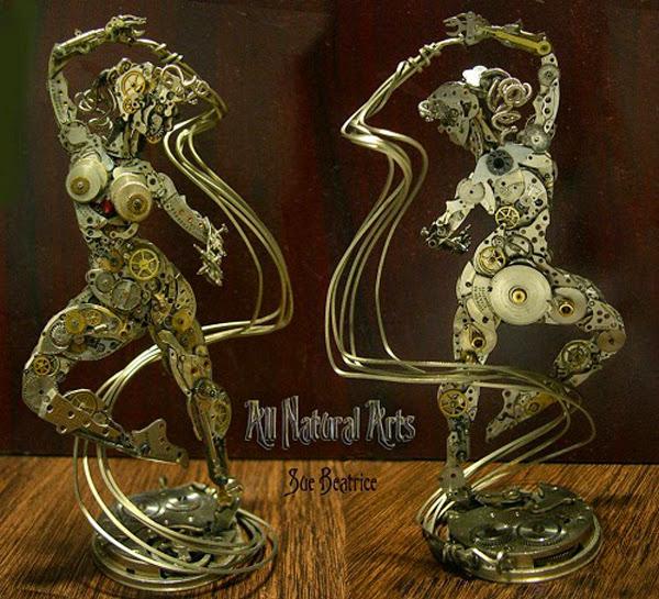 Маленькие скульптуры от Сью Беатрис
