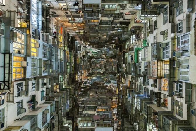 Шокирующие гонконгские «Кубы Борга»: дома для бедных