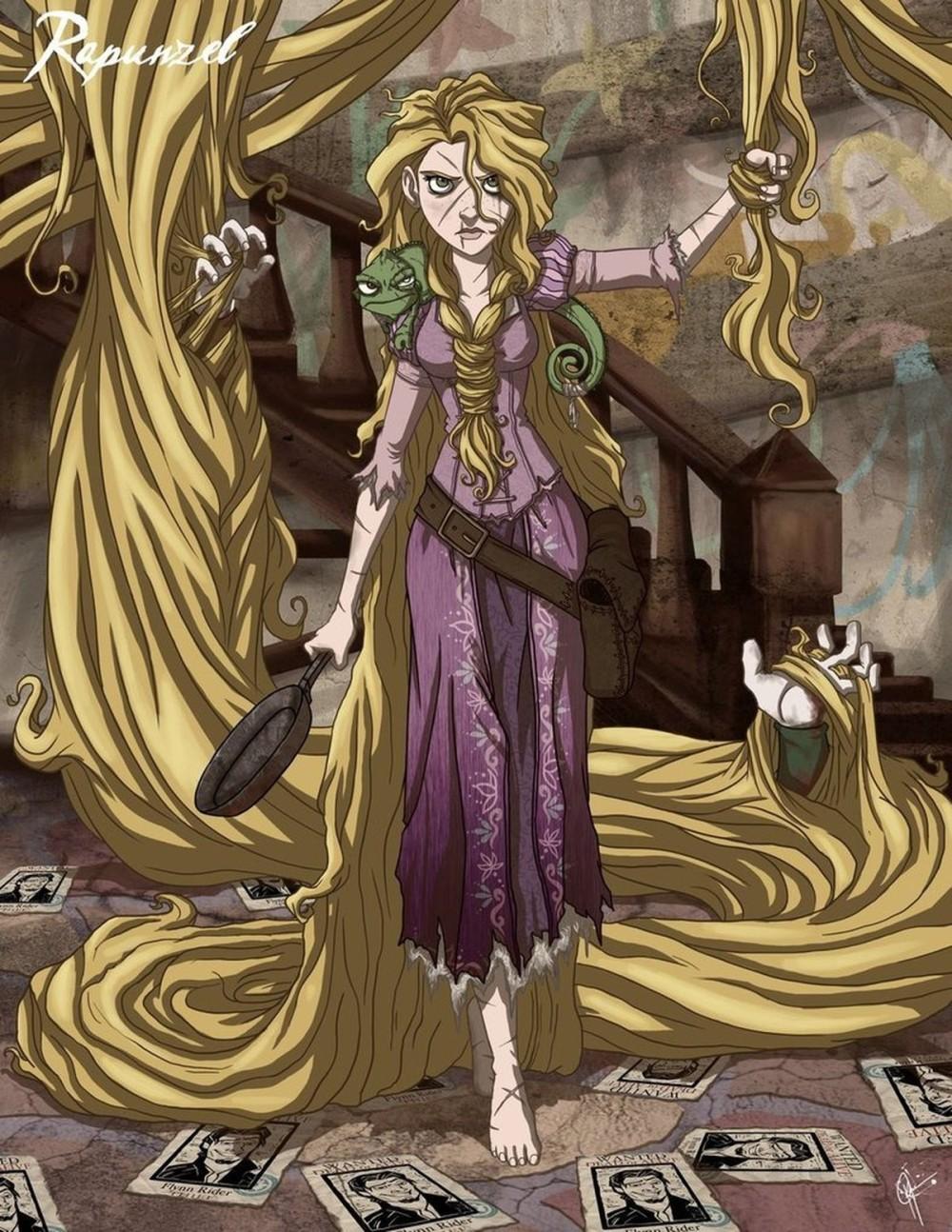 Диснеевские принцессы от Джеффри Томаса