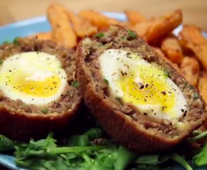 Простой рецепт яйца в фарше