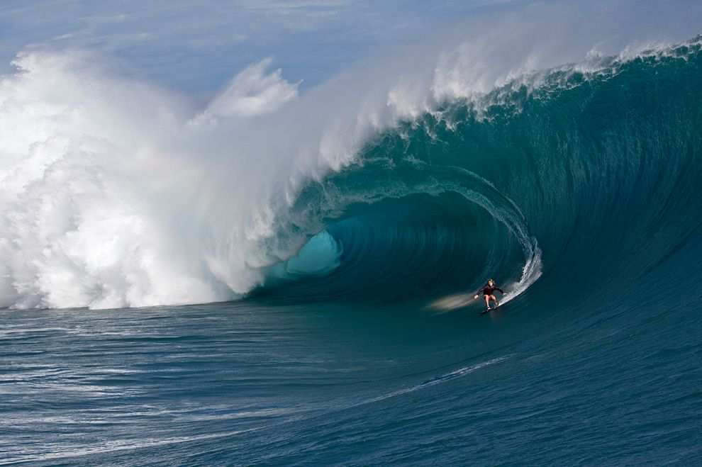 Сёрфинг. Таити