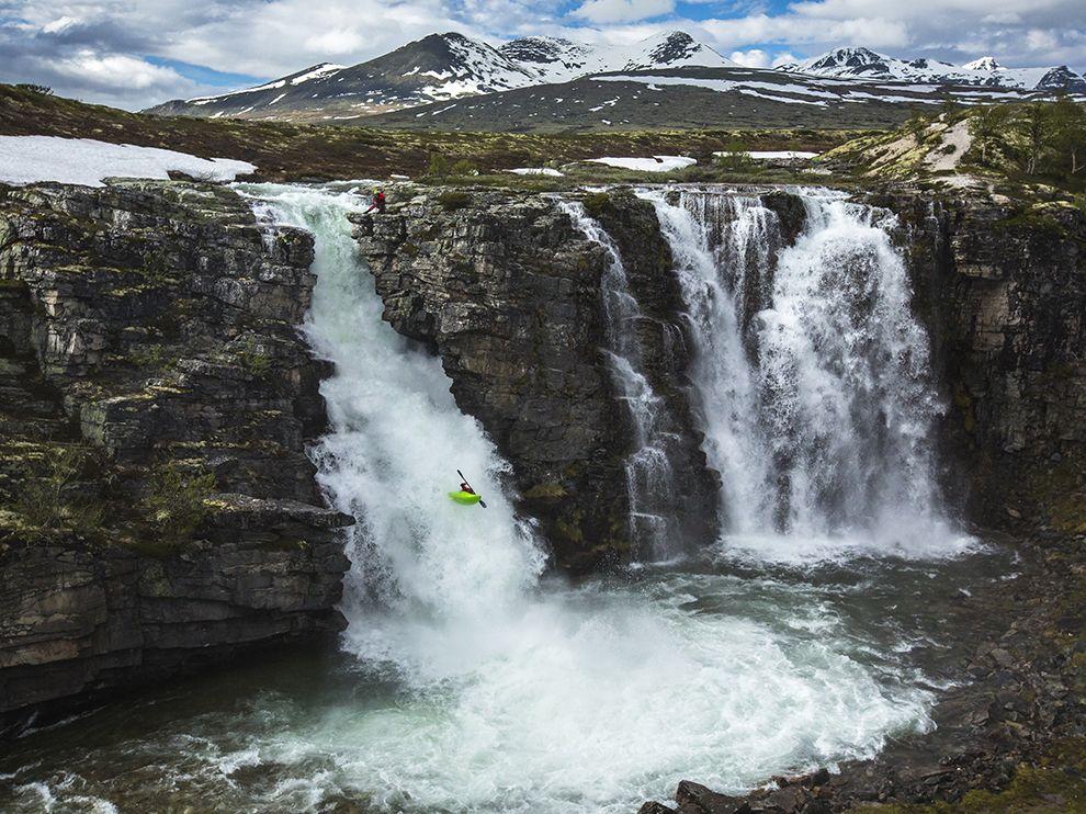 Каякингна реке Юла. Норвегия