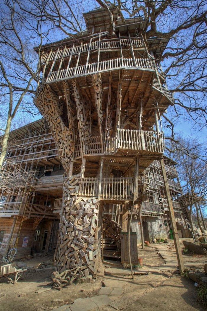 Самый большой дом на дереве