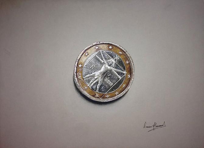 Гиперреалистичные 3D рисунки от молодой художницы Нурин Хаммад