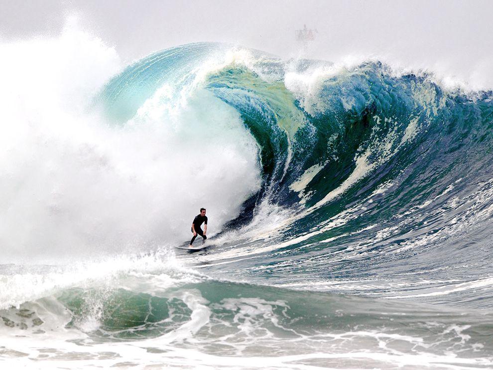 Сёрфинг.Штат Калифорния, США
