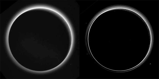 снимки поверхности Плутона