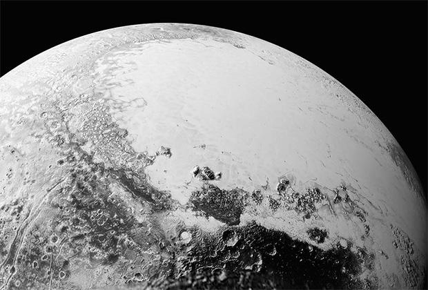 Последние снимки поверхности Плутона