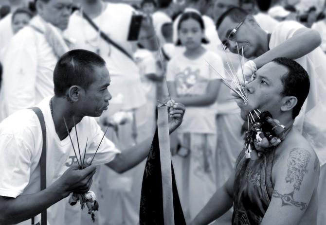 Вегетарианский фестиваль в Таиланде: описание и красочные снимки