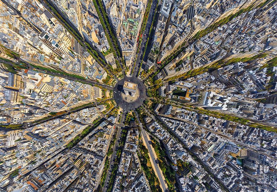 Снимки с высоты птичьего полёта