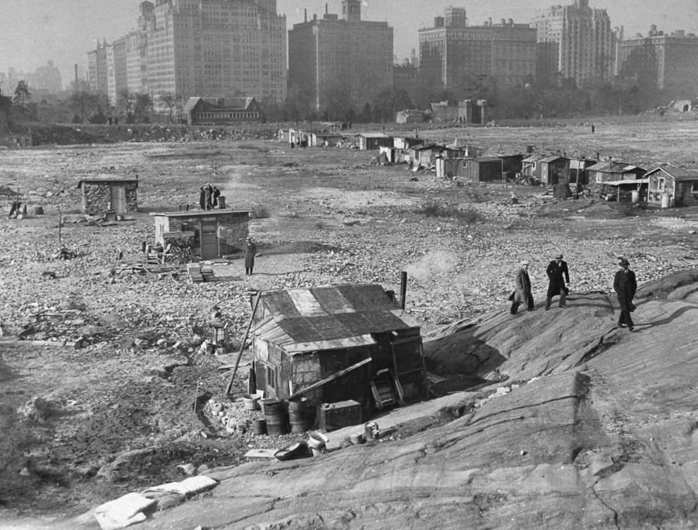 Гувервилль: Центральный парк Нью-Йорка в 1930-х годах