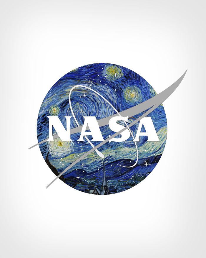 NASA+ «Звёздная ночь», Винсент Ван Гог