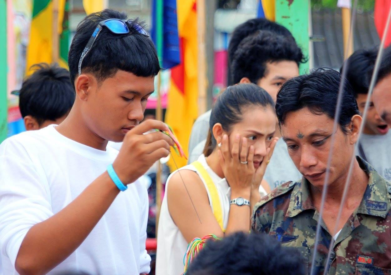 Вегетарианский фестиваль в Таиланде