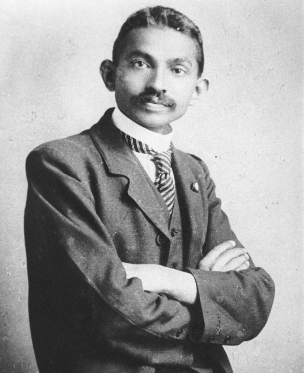 Махатма Ганди - лидер движения за независимость Индии