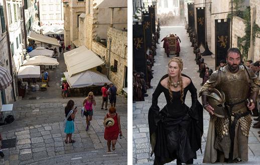 Места съёмок сериала «Игра Престолов» в Хорватии