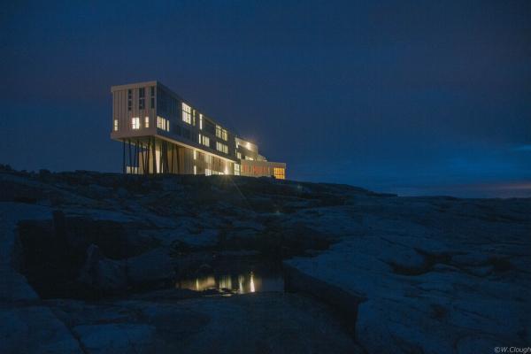 Fogo Island Inn - остров Фогу,Ньюфаундленд,Канада