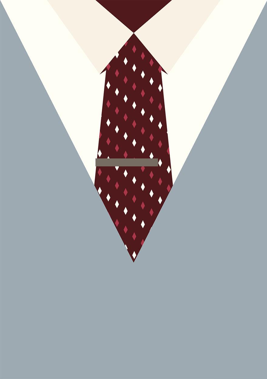 Цветовые комбинации костюма и галстука