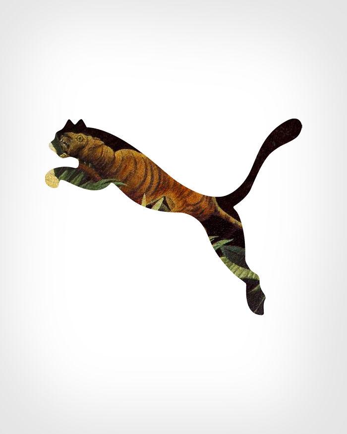 Puma + «Атака тигра», Анри Руссо