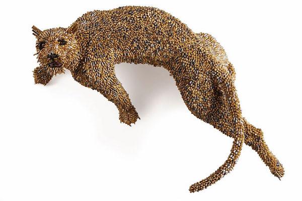 Скульптуры из гильз от Федерико Урибе