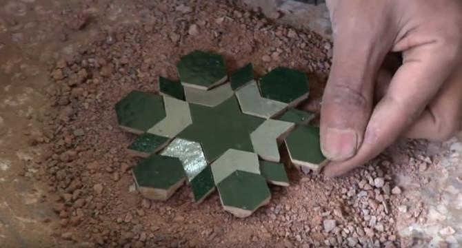 От глины до мозаики — как делается заллидж