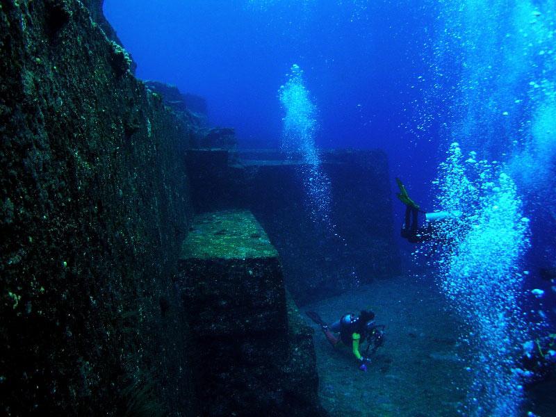 Подводные города, Подводный комплекс Йонагуни
