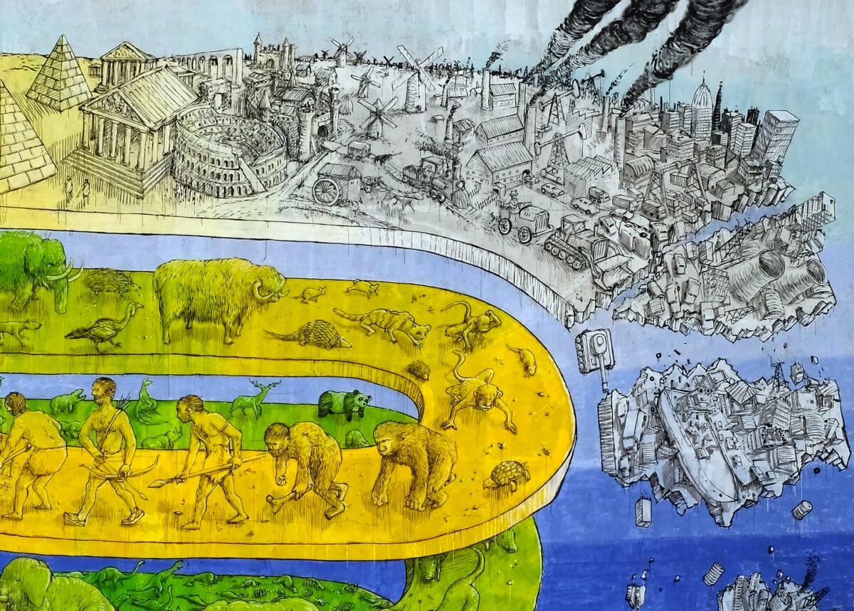 Хронология эволюции с катастрофическим исходом на улицах Италии