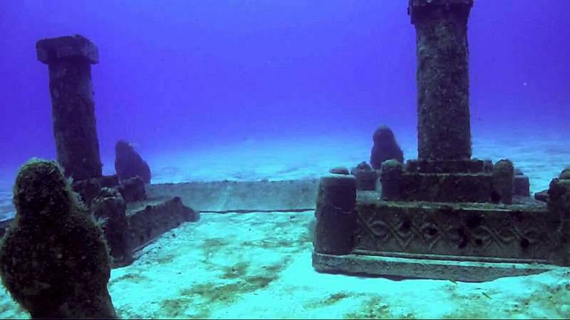 Подводные города, Дварка, Камбейский залив, Индия