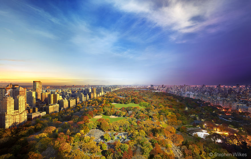 Центральный парк,Нью-Йорк