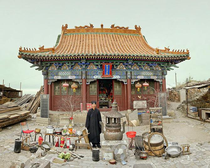Фотографии китайских семей, позволяющие заглянуть в их быт