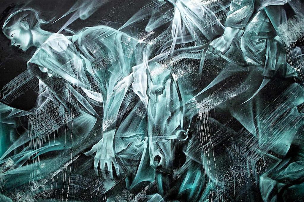 Настенная живопись от художника Ли-Хилл
