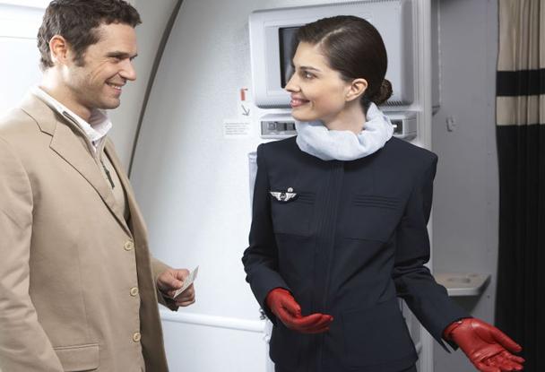 Униформа стюардесс Air France