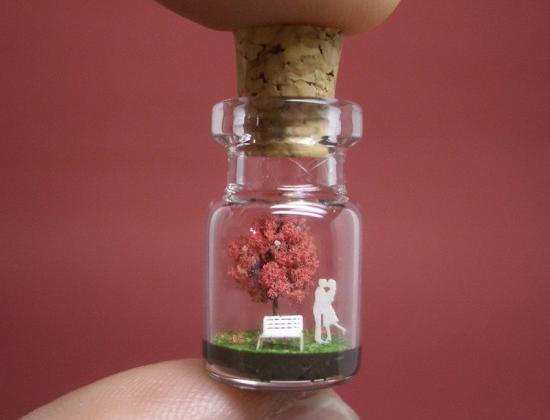 Крошечный мир в бутылке от Акинобу Изуми