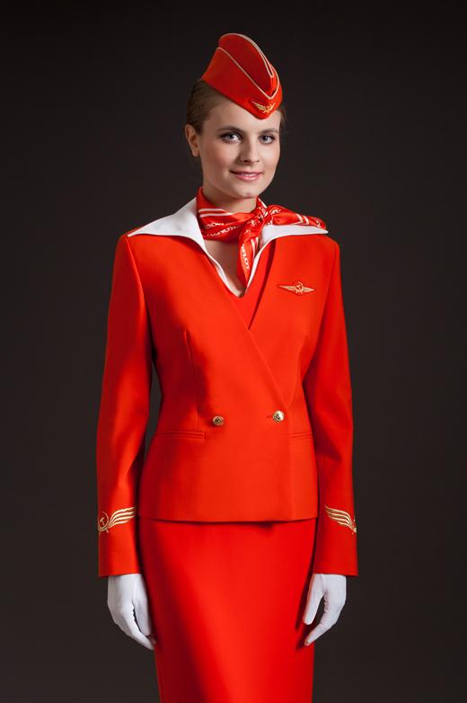 Униформа стюардесс Аэрофлота
