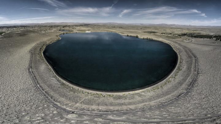 Озеро в потухшем вулкане