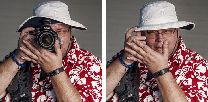 Как выглядят фотографы, если отобрать у них камеру